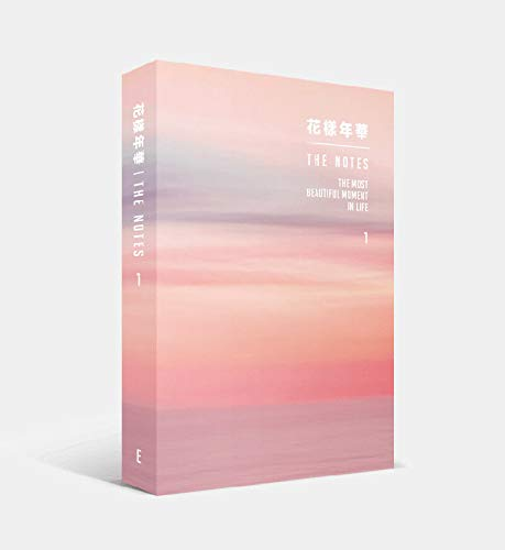 BTS Bangtan Boys - [花樣年華 The Notes 1] [English ver.] 234p Book+ 4 BTS Double Side Photocards Set