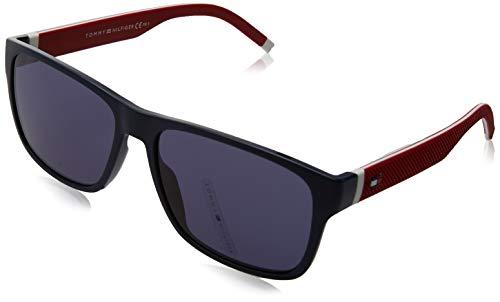 Tommy Hilfiger Herren TH 1718/S Sonnenbrille, BL ROTWEISS, 56