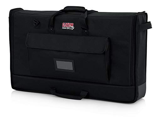 Read About Gator Cases Padded Nylon Carry Tote Bag for Transporting LCD Screens, Monitors and TVs Between 19″ – 24″; (G-LCD-TOTE-SM) (Renewed)