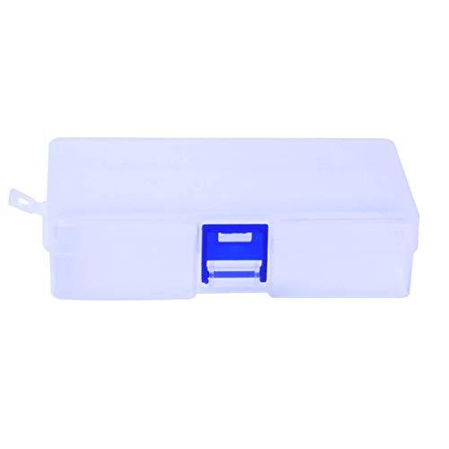 FENGMEI Multi-Red de Caja de Almacenamiento Caja joyero Caja de plástico Transparente Acabado Cuadro de Vestir Caja de la Caja de Conveniencia