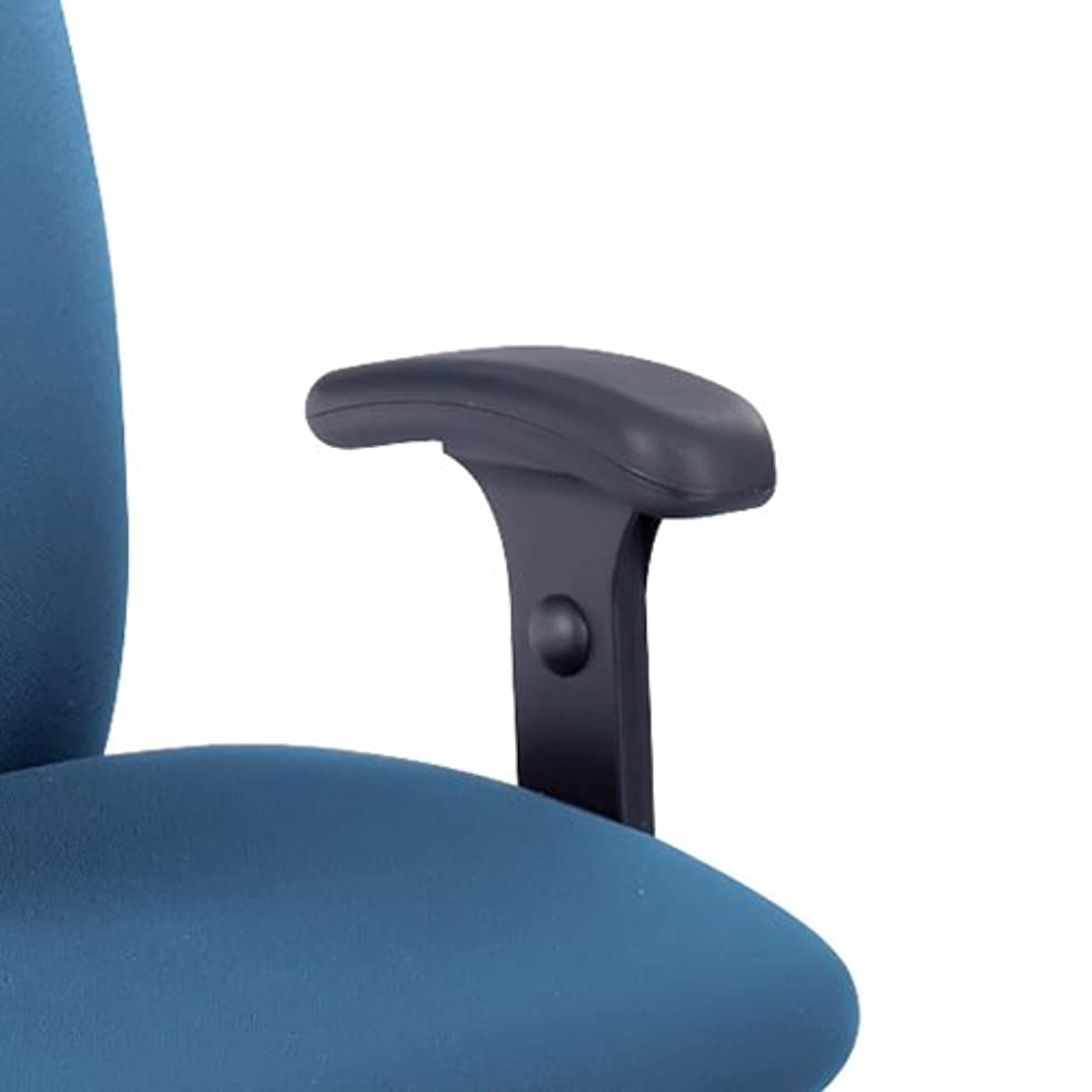 Safco Office Executive Drafting Chair Stool Comfortable Adjustable T-Pad Arm Rest Kit for Uber Task Chair Set