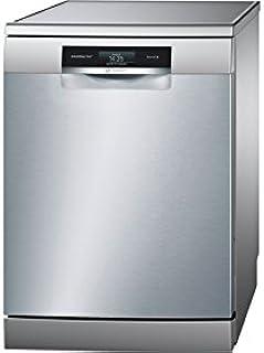 Bosch Serie 8 SMS88TI07E Independiente 13cubiertos A+++-10% lavavajilla - Lavavajillas (Independiente, Acero inoxidable, Tamaño completo (60 cm), Negro, Acero inoxidable, Tocar, TFT)