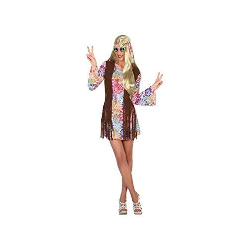 Atosa-16363 Disfraz Hippie, Multicolor, M-L (16363)