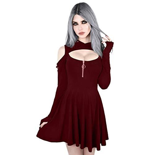 Eaylis Gothic MittelalterlicheKleidung Geisterbraut böse Königin Lange Vampir Kleid Kalifornien Kostüme Dunkle Magierin Hexe Zauberin Halloween Damenkostüm Renaissance Robe Kostüm Vintage Gericht
