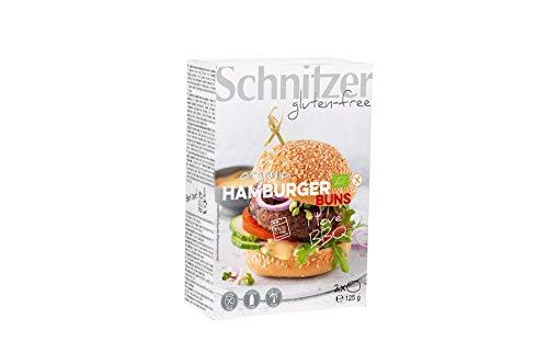Schnitzer glutenfree Hamburger Buns glutenfrei, 8er Pack (8 x 125 g)