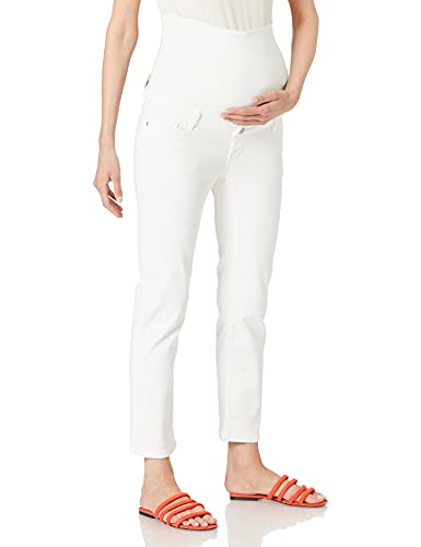 Esprit Maternity Pants Denim OTB str 7/8 Jeans, Off White-110, 40 para Mujer