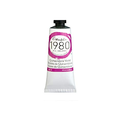 Gamblin 1980 Oil Color 37ml (Quinacridone Violet)