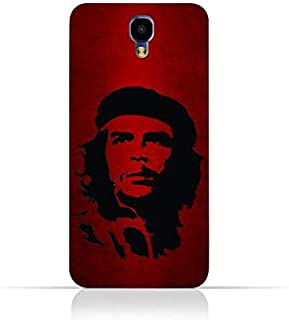 Infinix Note 4 X572 TPU Silicone Case with Che Guevara Silhouette Pattern