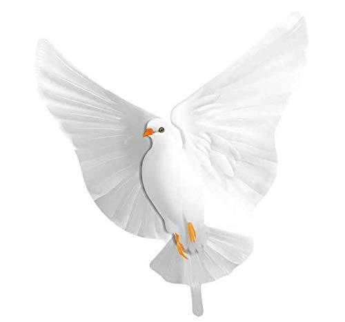 Folat 61788 - Palloncino a forma di colomba bianca