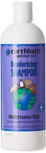 Earthbath All Natural Mediterranean Magic Rosemary Scented Deoderizing Shampoo, 16-Ounce