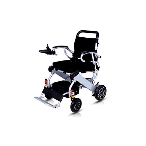 Miao. Elektrische rolstoel, eenvoudig in te klappen, 23 kg (20 km bereik), 360 ° joystick, gewicht 100 kg, elektrische rolstoel, vliegtuig kan instappen.