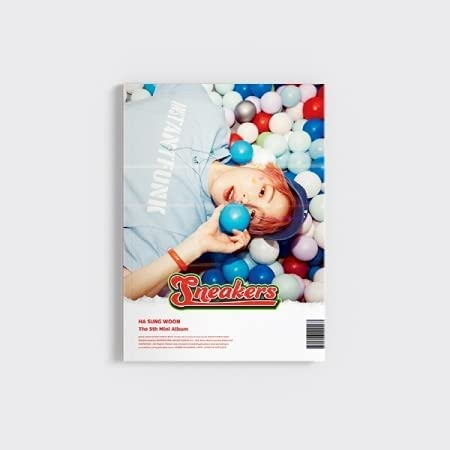 Ha SungWoon Sneakers 5th Mini Version Cheap mail order shopping PhotoBoo CD+60p Easy online shop Album