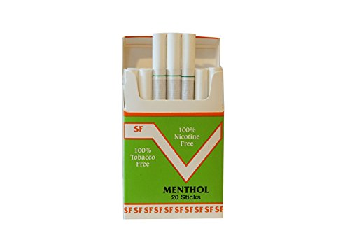 One Pack Made in USA Since 1998 Smoke Free(Cocoa Bean Sticks) Menthol Flavor