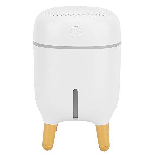 Humidificador LED, humidificador, compacto portátil y ligero para oficina en casa(white)
