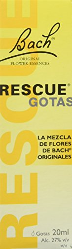 Rescue Remedy - 20 ml, pack de 1 unidad