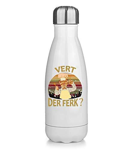 NoMoreFamous Chef Vert Der Ferk Térmica Bottela Termo Bottle Acero Inoxidable