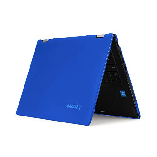 """mCover Hard Shell Case for New 2020 14"""" Lenovo IdeaPad Flex 5-14ARE05 81X2 AMD Convertible Laptop (NOT Compatible with Older Flex 4-14 / 5-1470 / 6-14ARR Series) Computers ( FLEX5-14ARE ) (Blue)"""
