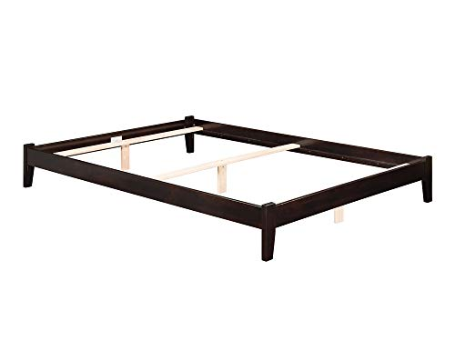 Atlantic Furniture Concord Traditional Bed, King, Espresso