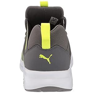 PUMA Men's Enzo 2 Running Shoe, Castlerock-Yellow Alert, 11