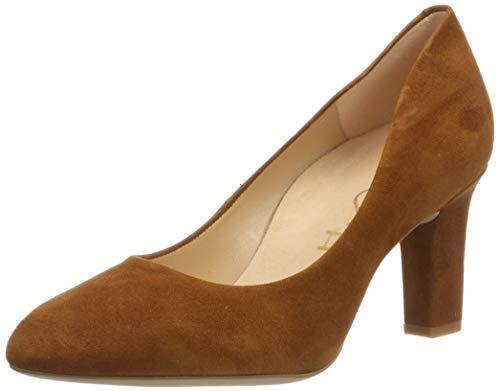 Unisa Umiswd_KS, Zapatos Tacón Mujer, Marrón Cuir