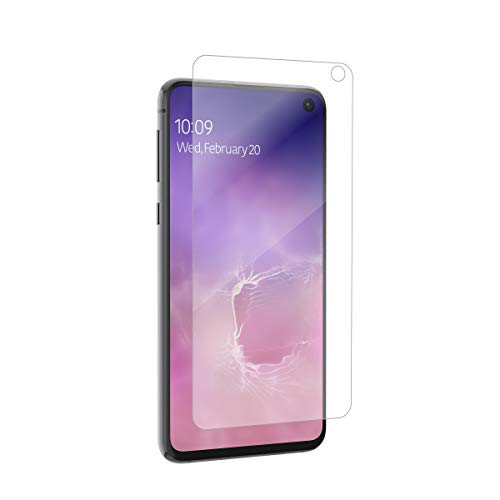 ZAGG InvisibleShield Glass+ Screen Protector – Made for Samsung GS10 Edge – Extreme Impact & Scratch Protection – Easy to Apply – Seamless Touch Sensitivity (200102639)