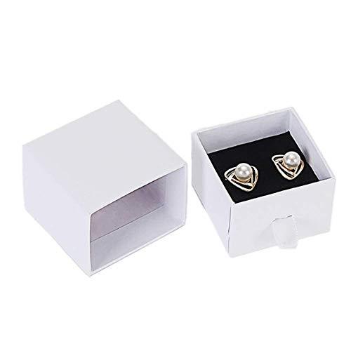 ZUOLUO cajitas Regalo Caja de Regalo Pulsera Caja Colgante Joyas Caja de Pequeña Caja de Regalo Cajas de Regalo para Regalos Stud Box