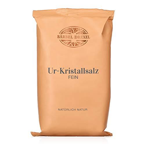 BÄRBEL DREXEL® Rosa Kristallsalz (Tiefebenen Rand Himalaya) FEIN, Natursalz (750g) 100% Vegane Herstellung Deutschland Ur-Salz Aus Pakistan