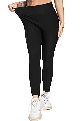 FITTOO Pantalon Sudation Femme Legging Minceur Néoprène Transpiration Sauna Amincissant Sport Gym...