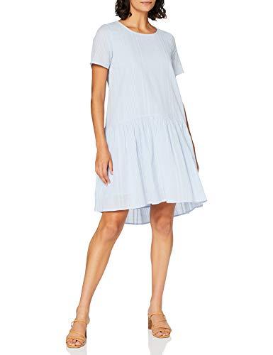PIECES Pcmaela SS Dress BC Vestido, Kentucky Blue, M para Mujer