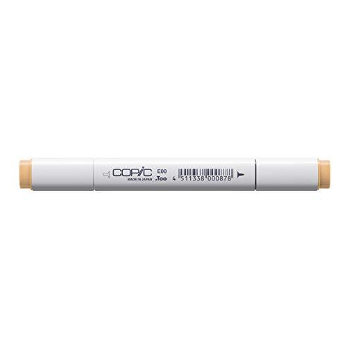 Copic Marker with Replaceable Nib, E00-Copic, Skin White/Cotton Pearl