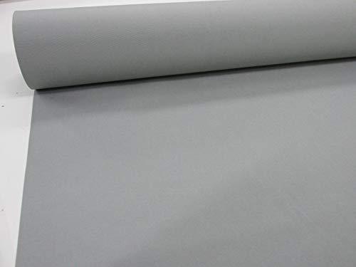 Confección Saymi Metraje 0,50 MTS. Tejido Lona acrílica Color Liso Gris Claro 407, con Ancho 3,20 MTS.