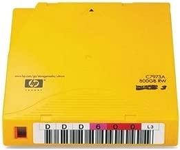 HP C7973AN LTO Ultrium 3 Non-Custom Labeled Tape Cartridge. 20PK 400/800GB LTO3 ULTRIUM NON CUSTOM LABEL TAPMED. LTO Ultrium LTO-3 - 400GB (Native) / 800GB (Compressed)