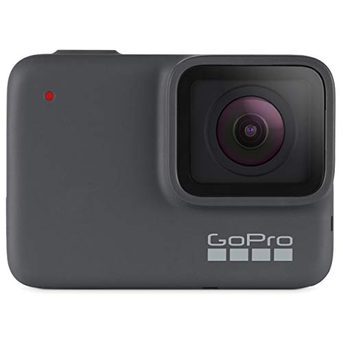 GoPro HERO7 Silver - E-Commerce Packaging - Waterproof Digital Action Camera with Touch Screen 4K HD Video 10MP Photos Live Streaming Stabilization