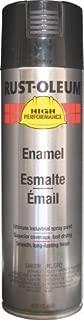 Rust-Oleum High Performance V2100 Rust Preventive Enamel Aerosol, Black 20 oz. Can - Lot of 6