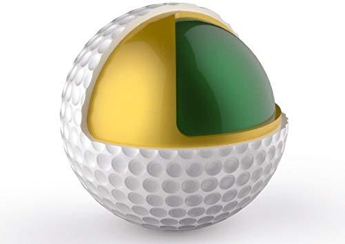 Golf Bälle ~ 24 Stück ~ Premium 3-Piece Golfbälle ~