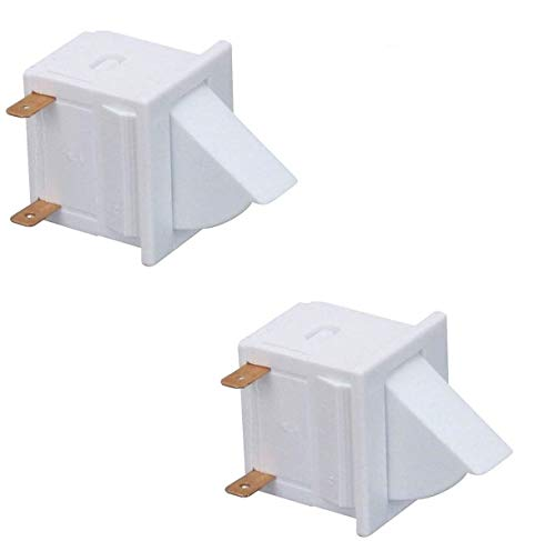 Price comparison product image (2 Pack) EXP18806 Refrigerator Door Light Switch Replaces C3680310,  W11384469,  AP6893312,  WP1118894,  18806,  PS12728638,  WPC3680310