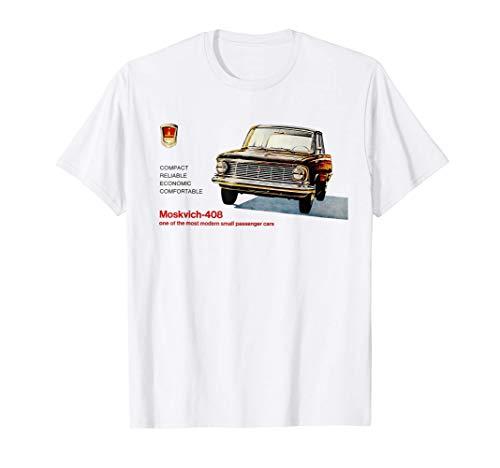 Affiche de propagande soviétique automatique de voiture de T-Shirt