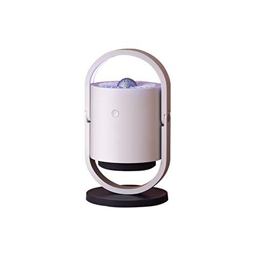 NGLQWA Triple Anti-mosquitosLámpara Mata Insectos Electrico UV Portátil Carga por De Mosquitos Inteligente con Ventilador Integrado Mosquito Lamp