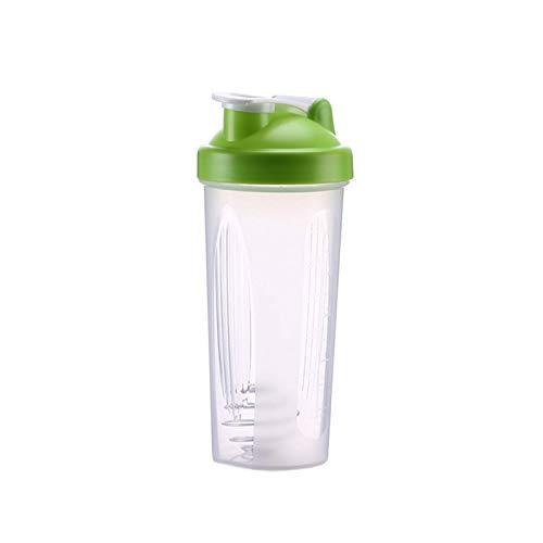 600ML Handle Shaker Plastic Milkshake Sports Space Water Cup Protein Powder Mixing Cup
