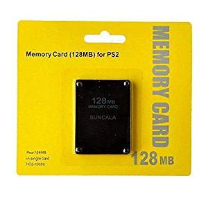 PeleusTech® Memory Card, 128MB High Speed Memory Card for Sony PS2 Playstation 2 Games