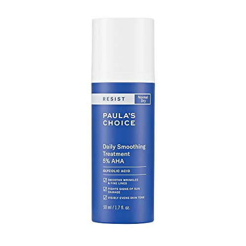 Paula's Choice RESIST Daily Smoothing Treatment 5% AHA with Glycolic Acid & Ceramides, Anti-Aging Lotion Exfoliant for Dry Skin, 1.7 Ounce