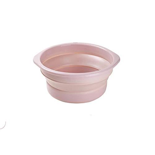 Lavabo plegable para el hogar de plástico portátil de viaje de gran tamaño para lavabo de baño