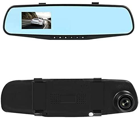 DOBO® Specchietto retrovisore con Telecamera Scatola Nera Registrazione Auto Schermo