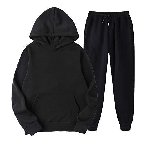 Ropa deportiva de los hombres traje de correr manga larga chaqueta pantalones ropa de entrenamiento