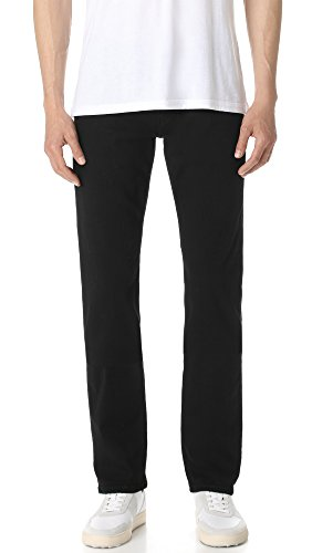 PAIGE Men's Normandie Black Shadow Jeans, Black, covid 19 (Fashions Correct Shadow coronavirus)