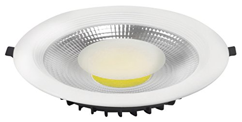 Laes 986983 Downlight LED Integrado, 30 W, Blanco, 220 x 57 mm