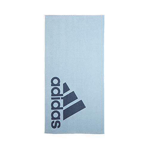 adidas Toalla Grande - Brillo Azul/Tecnología Tinta, 70cm X