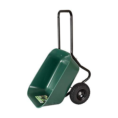 Garden Star 70019 Garden Barrow Dual-Wheel Wheelbarrow/Garden Cart