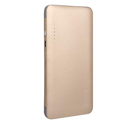 ASHATA draagbare 5000mAh Power Bank Dual USB-poort oplader met kabel oplader Bank voor telefoon