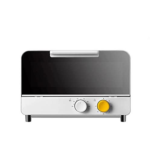 N / B Horno de microondas, termostato pequeño de 6 etapas 12L Horno eléctrico, calefacción rápida y Horno de Tiempo preciso, para Cocina en casa Pan horneado, Barbacoa, etc.